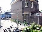 Laatste woning van derde en laatste blok (spoorkuil-kant) 23 mei 2012