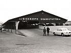 De loods in bedrijf , einde  jaren 1960